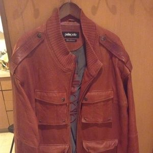 PELLE PELLE LEATHER COAT PLEASE READ DESCRIPTION